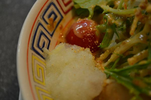 ミニトマトにおろし玉葱