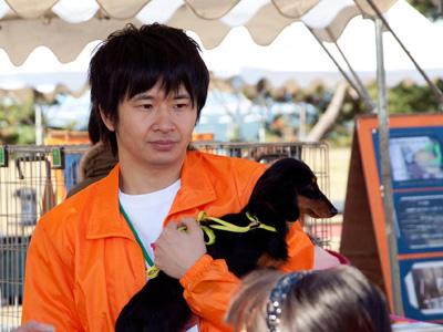 20120624 これ「ひまわりと子犬