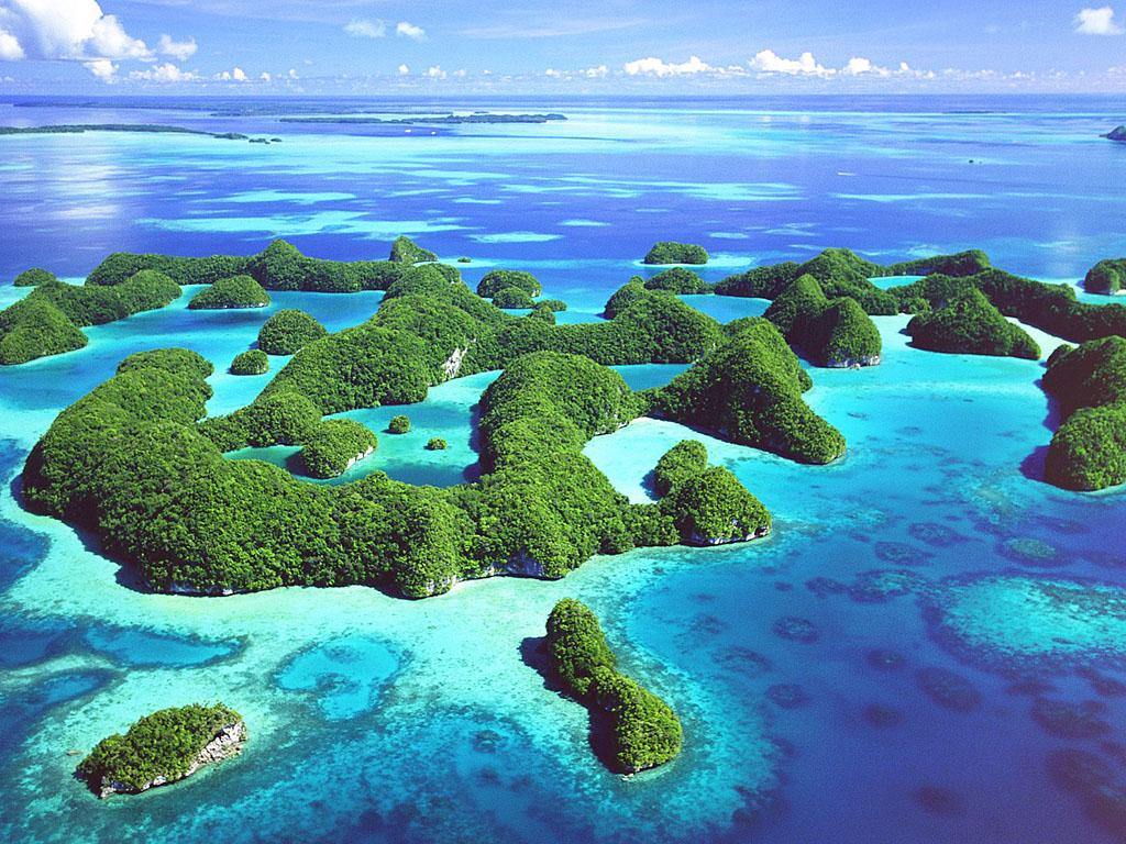 パラオの島々