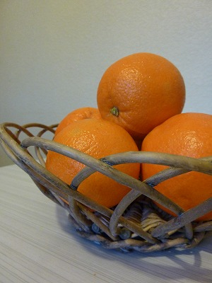 果物用のカゴ