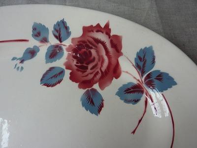 薔薇のステンシル