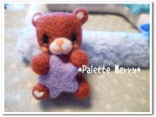 羊毛デコ☆フォトフレーム工房*Palette Merry*