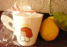$ハート温暖化♪-天使のマグカップ