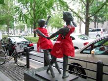ハート温暖化♪-赤い服