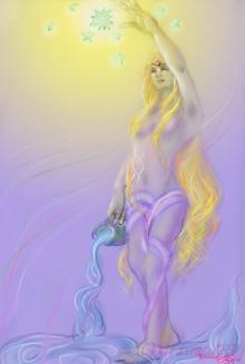 ほっと癒される光の絵画 感謝と祈りの詩と薔薇とアートコレクション-star