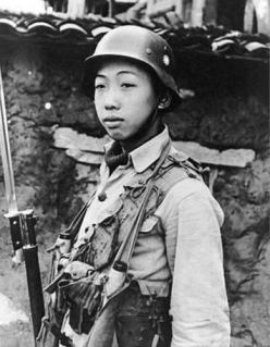 well equipped chinese nationalist army infantryman (china 1940)