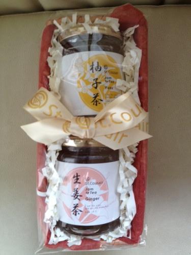 柚子茶と生姜茶