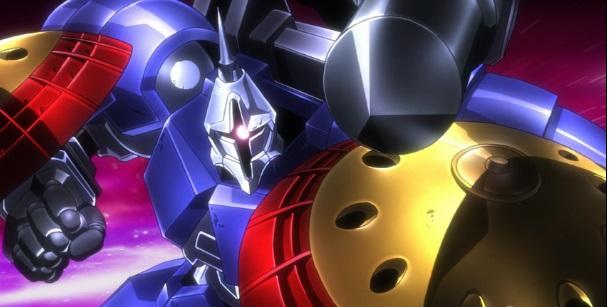 ガンプラ アニメ ガンダムビルドファイターズトライ ギャン子 スレッガー 準決勝 ガンプラバトル R-ギャギャ