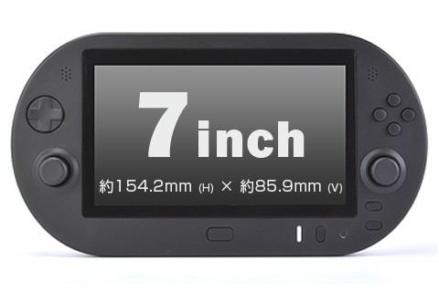 PSVITATV 7インチモニター PS3モニタ付きコントローラー PS4 リモートプレイ