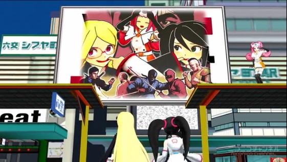 Hi☆sCoool! セハガール ゲームハードアニメ メガドライブ セガサターン ドリームキャスト ジェットセットラジオ