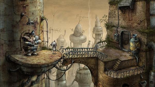 Machinarium PS3 注目作品 インディーズ 名作アドベンチャー