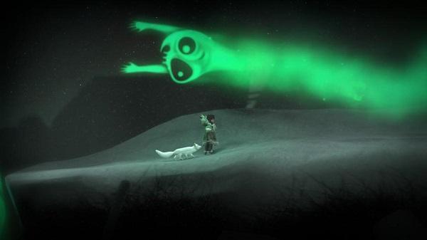 PS4 NeverAlone ネバーアローン イヌイット 北極ギツネ 北極熊 白熊 オーロラ