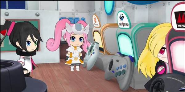 ゲームハードアニメ セガ Hi☆sCoool! セハガール  メガドライブ セガサターン ドリームキャスト 文化祭 ポロリもあるよ