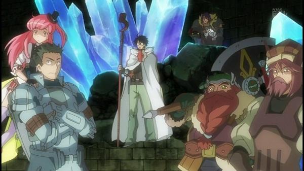 MMORPGアニメ ログ・ホライズン LOGHORIZON レイド フルレイド テストサーバー リアルシロエ