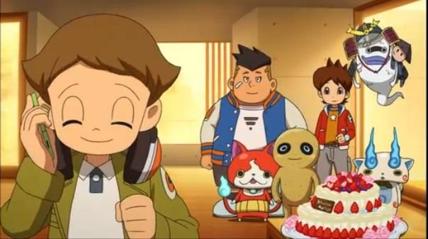 ゲームアニメ 妖怪ウォッチ ジバニャン 砂夫 カンチ 感動回