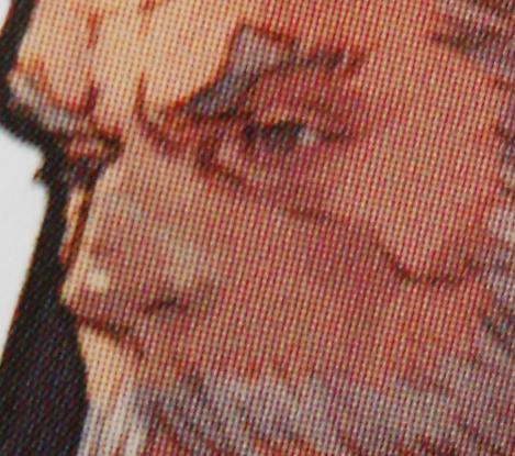 タクティクスオウガ 運命の輪 Art Works (画集) 暗黒騎士バールゼフォン顔