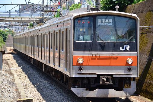 20110710 205系M17