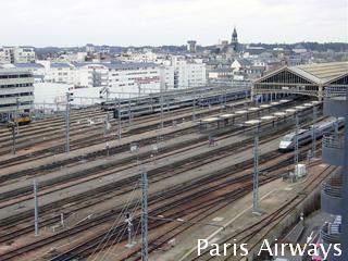 Gare de Tours トゥール駅