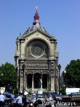 パリ サンオーガスタン 教会