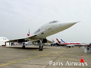 パリ航空ショー コンコルド