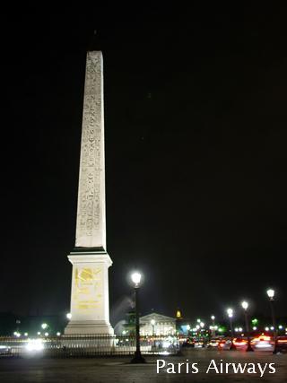 パリ コンコルド広場 オベリスク
