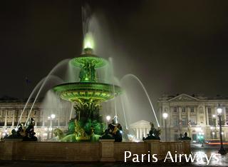パリ コンコルド広場 噴水