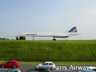 コンコルド パリ シャルルドゴール空港