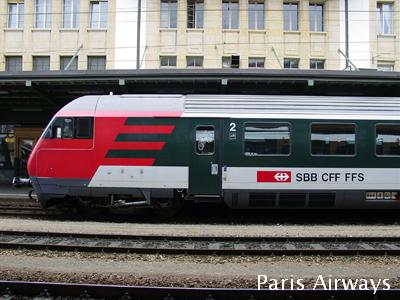 ローザンヌ駅 スイス国鉄