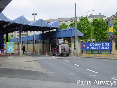 スイス フランス 国境 入国管理