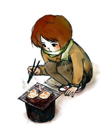 焼き餅食べたい・・・