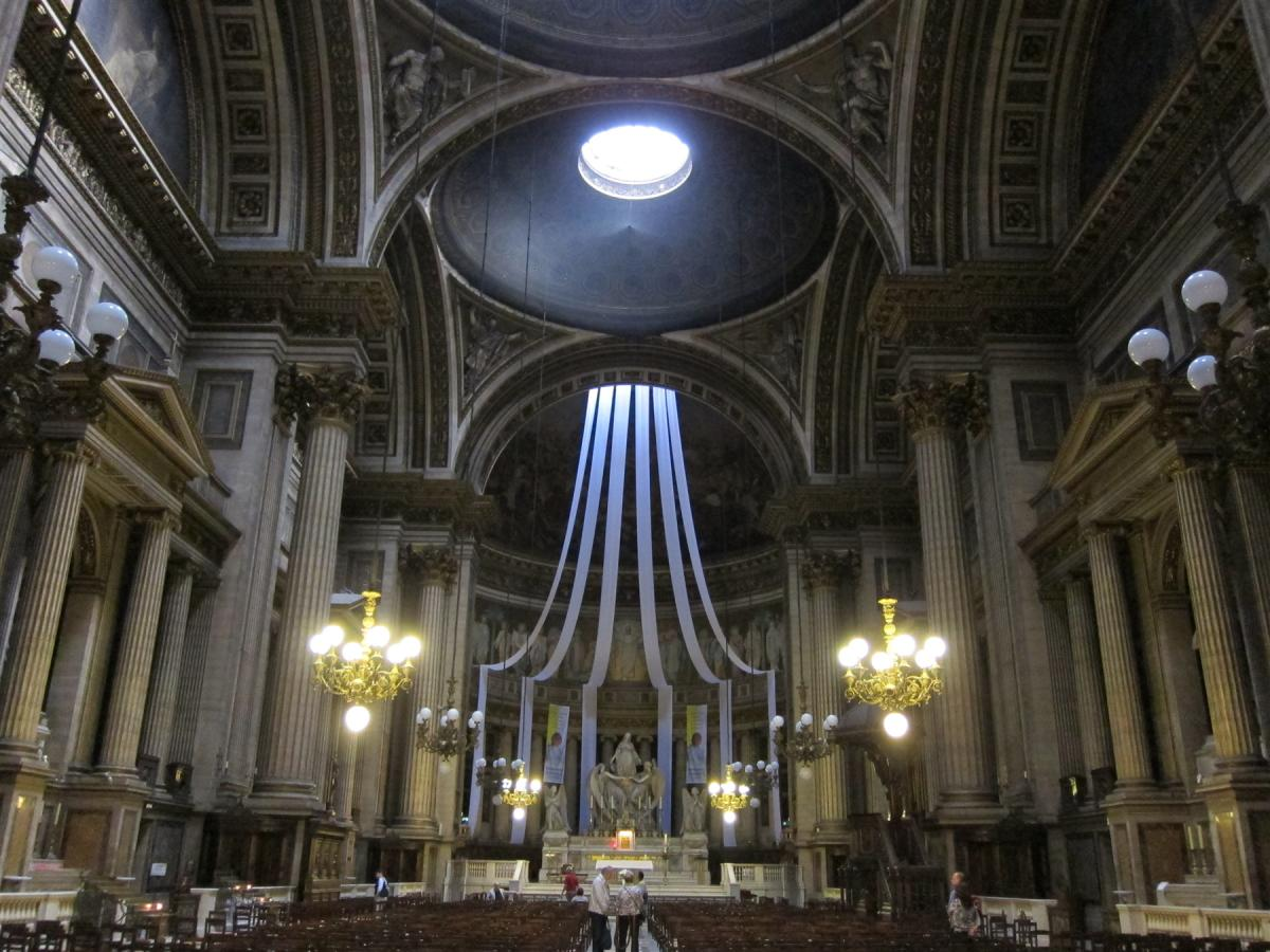 マドレーヌ寺院 パリ