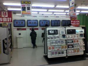 3DS店頭