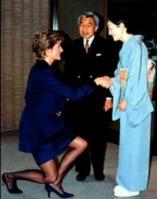 天皇陛下とダイアナ妃