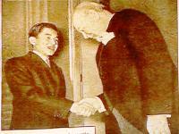 天皇陛下 チャーチル首相