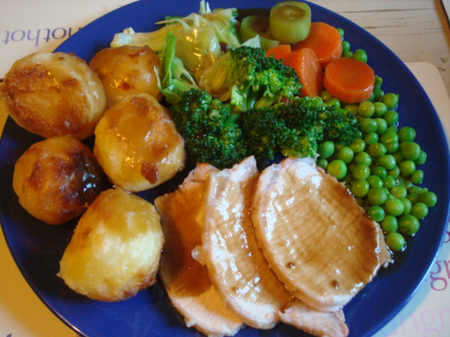 Sunday roast on 15/04/12