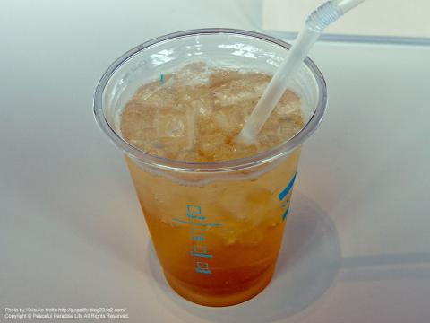 東京スカイツリー第一展望台で飲んだドリンク