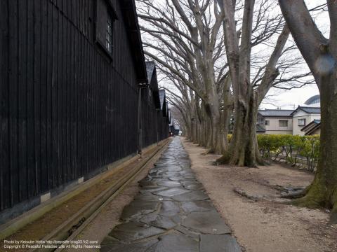 山居倉庫(山形県酒田市)