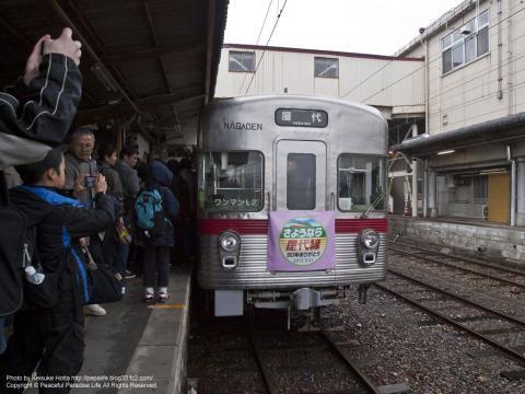 長野電鉄屋代線2012年3月31日ラストラン(長野県)