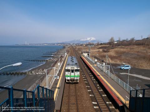 室蘭本線・北舟岡駅(きたふなおかえき)(北海道)