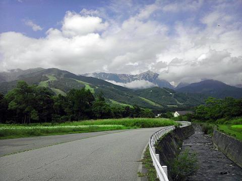 白馬・八方の山々