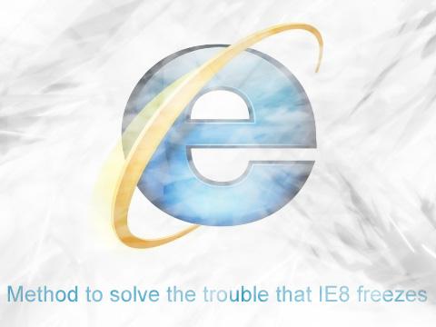 IE8 Freezes