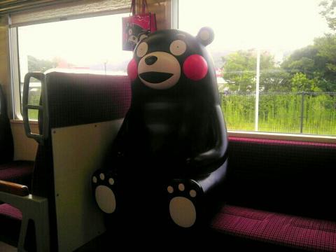 肥薩おれんじ鉄道くまモン列車