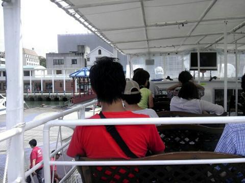 軍艦島ツアーの様子