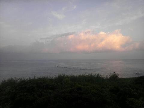 車窓からの日本海