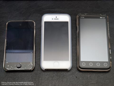 iPod touch 4th,iPhone5,htc EVO 3D