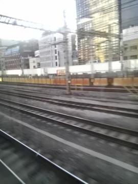 東海道線の眺め