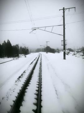 青森の雪景色