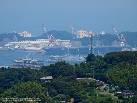 海上自衛隊横須賀地方隊と米軍横須賀基地