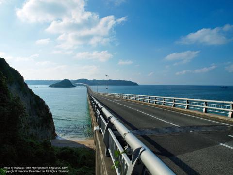 【絶景】角島大橋(山口県)