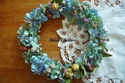 紫陽花ブルー1
